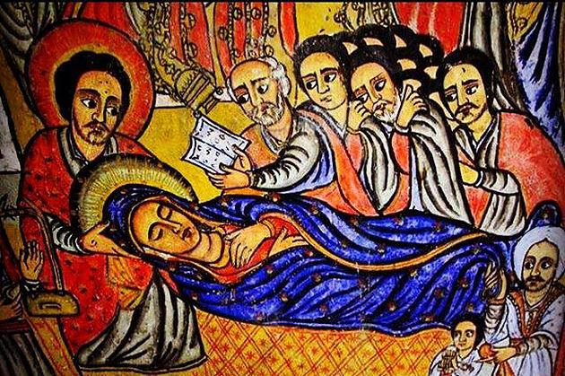 ፍልሰታ ማርያም (Ethiopian Assumption)
